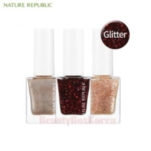 NATURE REPUBLIC Color & Nature Nail Color Glitter/Pearl 8ml [2018]